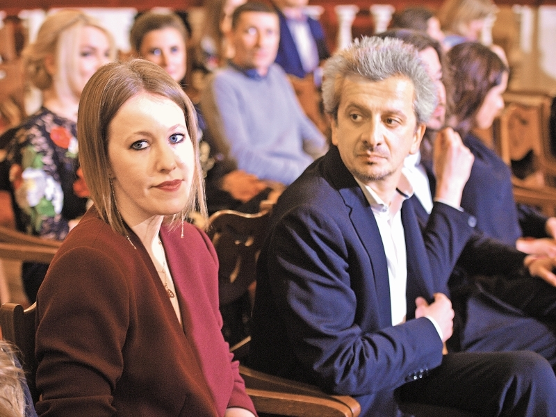 Собчак и Богомолов // фото: Global Look Press