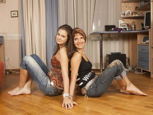 Наталья Штурм с дочерью // фото: Global Look Press