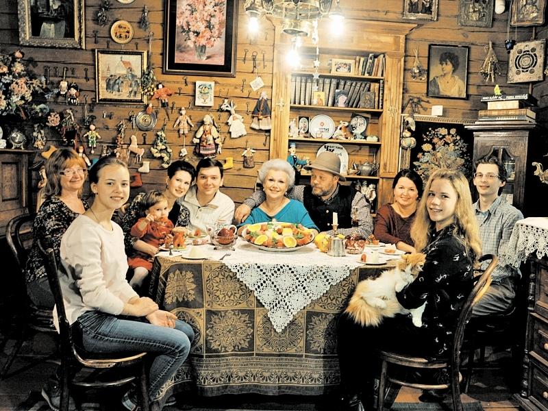 В гостевом доме всегда есть место детям и внукам // фото в статье: личный архив