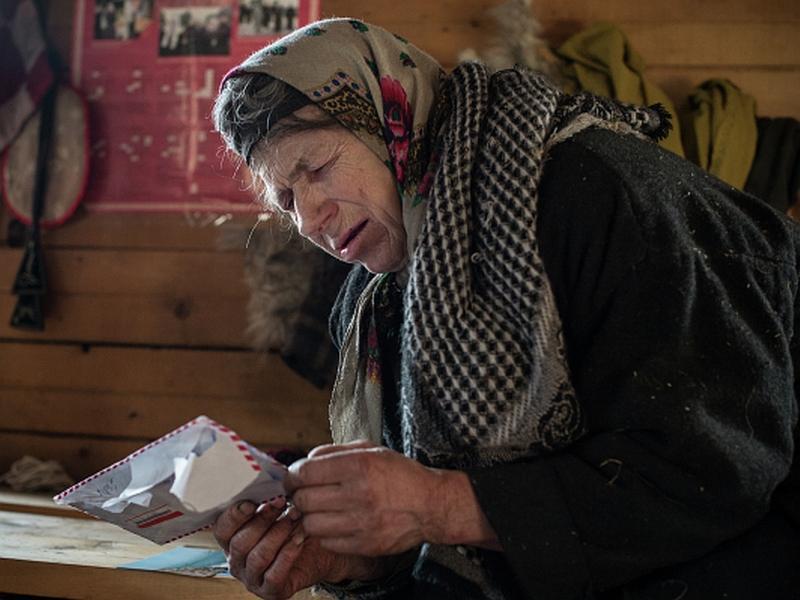 Агафья Лыкова // фото на полосе: Илья Питалев / РИА «Новости»