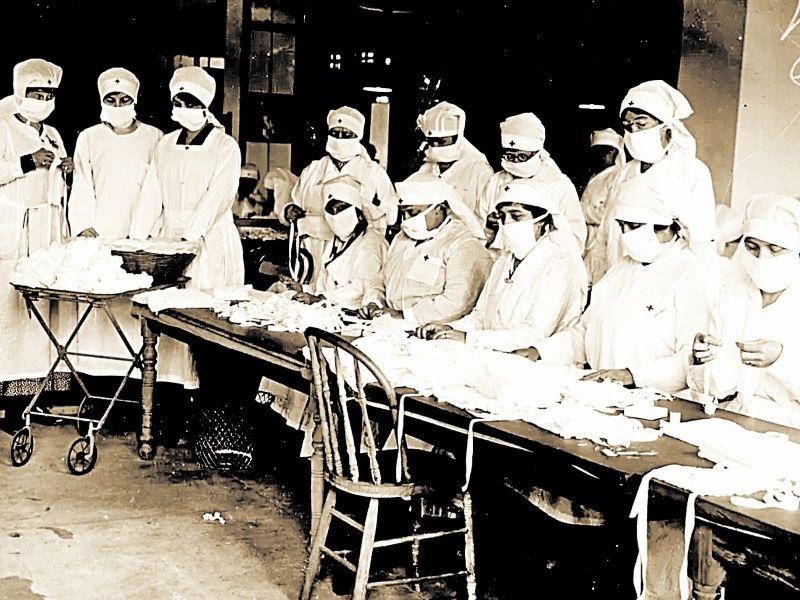1918 год. Испанка в разгаре