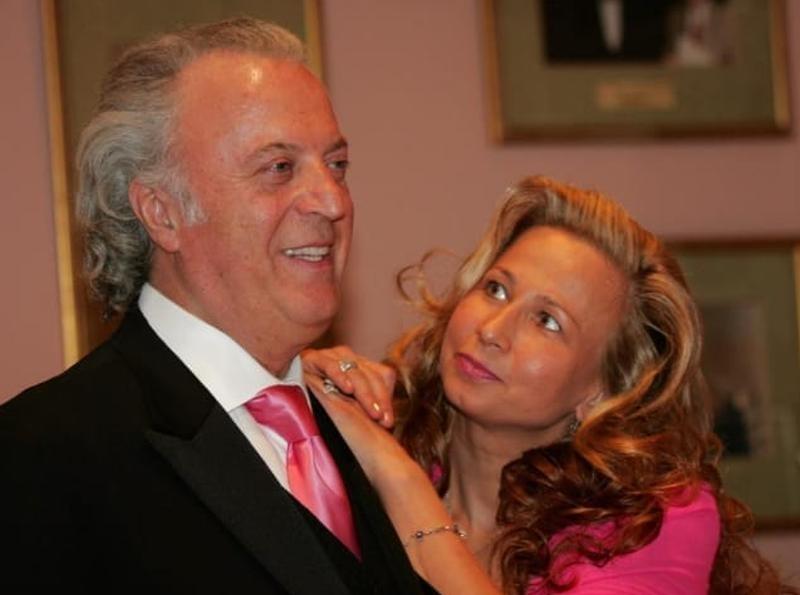 Резник с женой Ириной // фото: Global Look Press