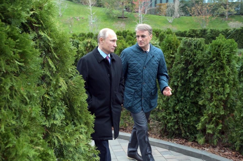 Владимир Путин и Герман Греф // Фото: Global Look Press