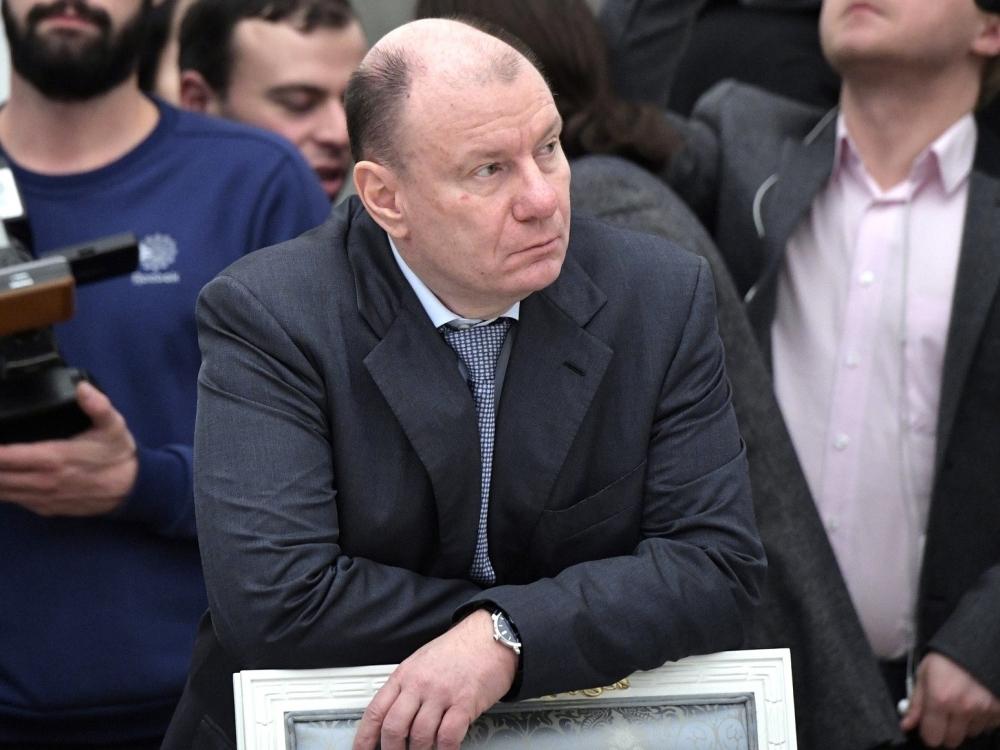 Владимир Потанин // Фото: сайт президента РФ