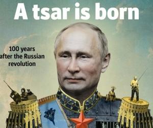 Обложка журнала The Economist к столетию Октябрьской революции // Фото: Global Look Press
