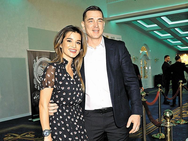 Ксения Бородина с мужем // Фото: Global Look Press
