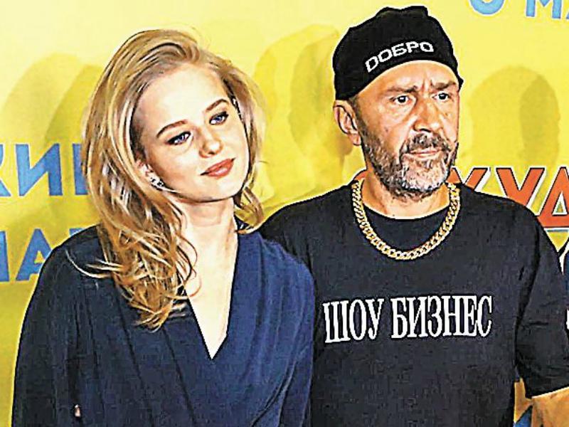 Александра Бортич и Сергей Шнуров // Фото: Максим Самылкин
