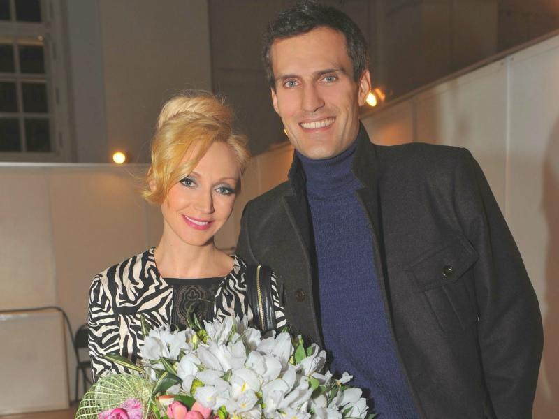 Кристина Орбакайте с мужем // Фото: Global Look Press