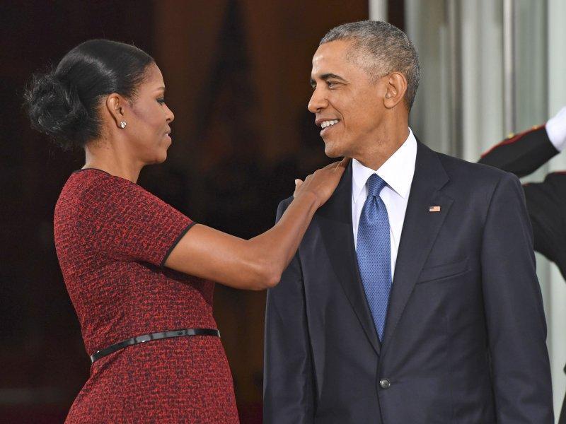 Мишель и Барак Обама покидают Белый дом, 20 января 2017 года // фото: Global Look Press