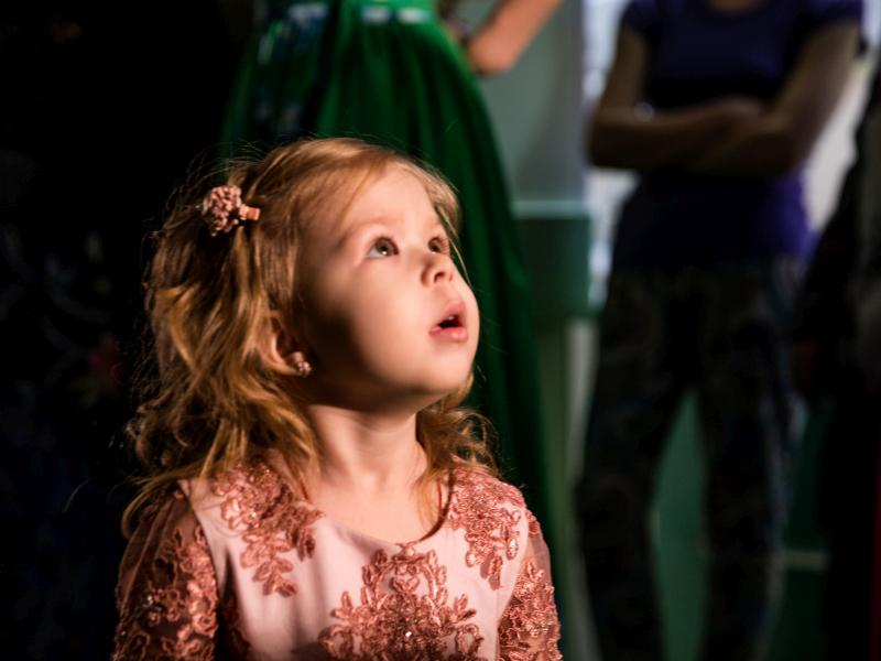 День красоты в Российской детской клинической больнице // фото: Ксения Малафеева