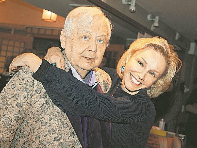 Олег Табаков с Мариной Зудиной // Фото: Global Look Press