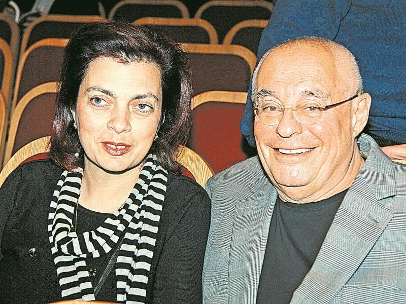 Марк Розовский с женой