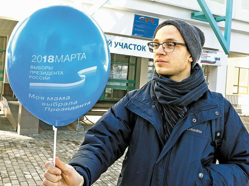 Студент Павел даже записался наблюдателем на выборы... // Фото: Global Look Press