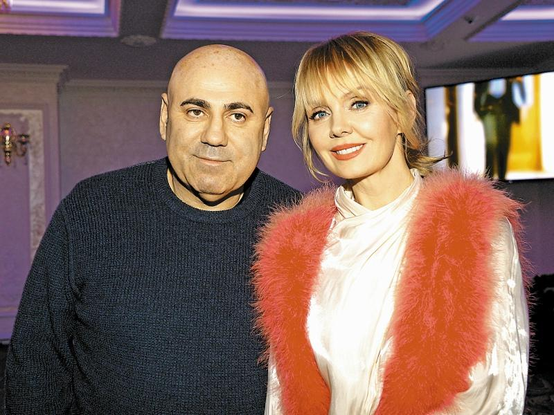 Иосиф Пригожин с Валерией // Фото: Global Look Press
