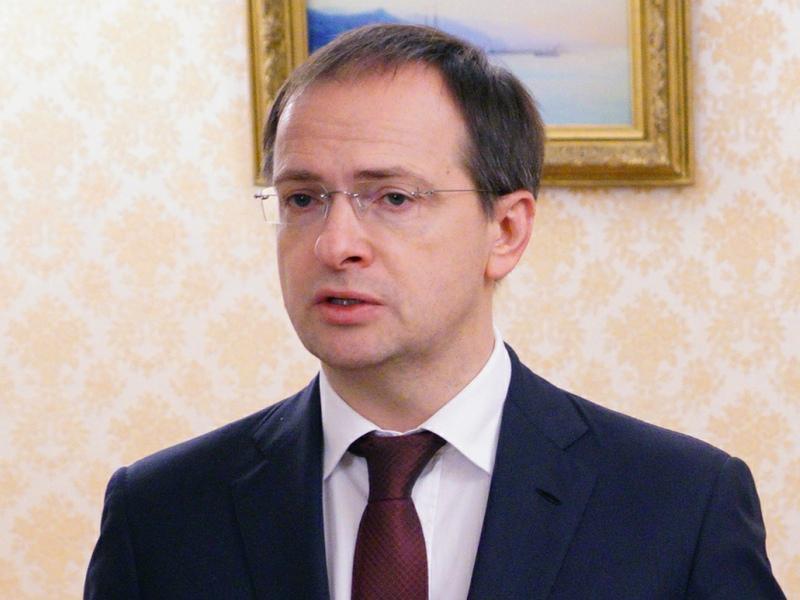 Глава Минкульта Владимир Мединский // Фото: Global Look Press