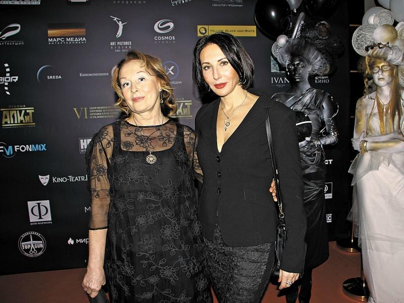 Лариса Удовиченко и Алика Смехова // Фото: Денис Сорокин