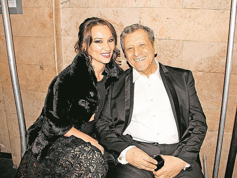 Борис с женой Екатериной // фото: Денис Сорокин