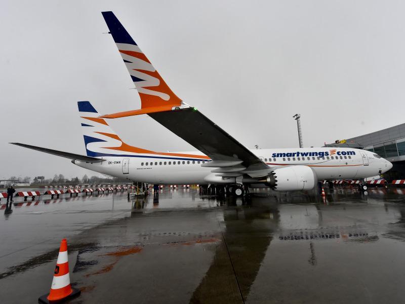 Boeing 737 MAX 8 чешской компании Travel Service // фото: Vit Simanek / CTK / Global Look Press
