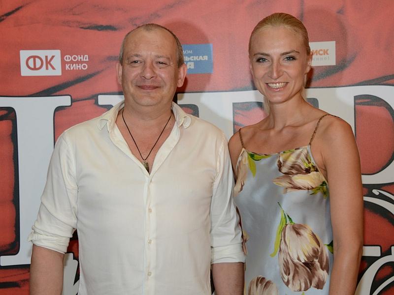 Дмитрий Марьянов с женой Ксенией Бик // фото: Global Look Press / Anatoly Lomohov