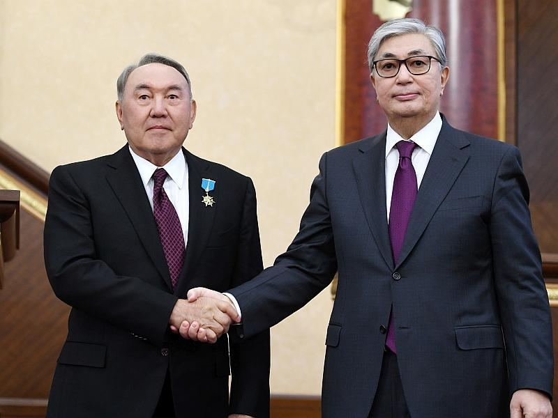 Назарбаев и Токаев: пост сдал, пост принял // фото: Global Look Press