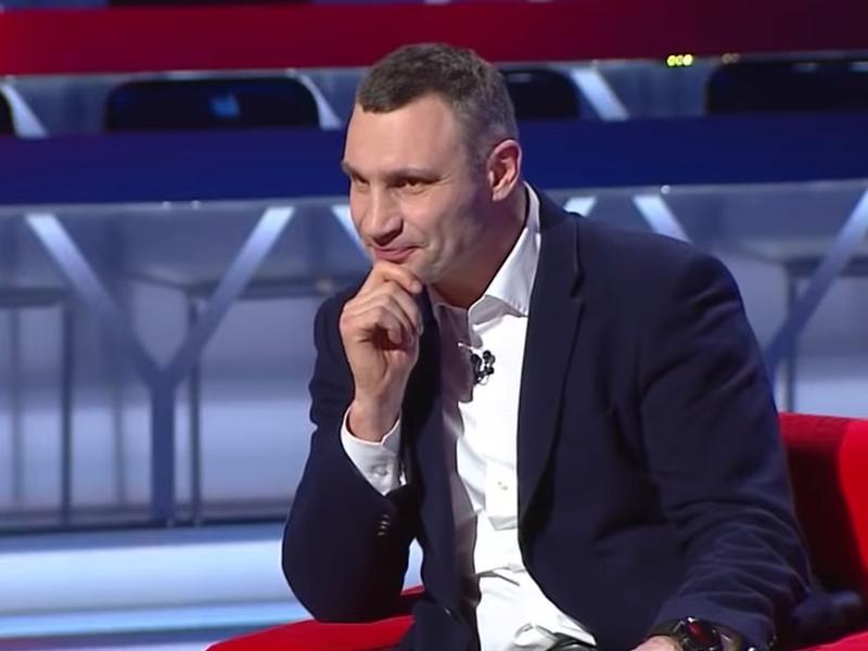 """Виталий Кличко // стоп-кадр / Youtube / канал """"112 Украина"""""""