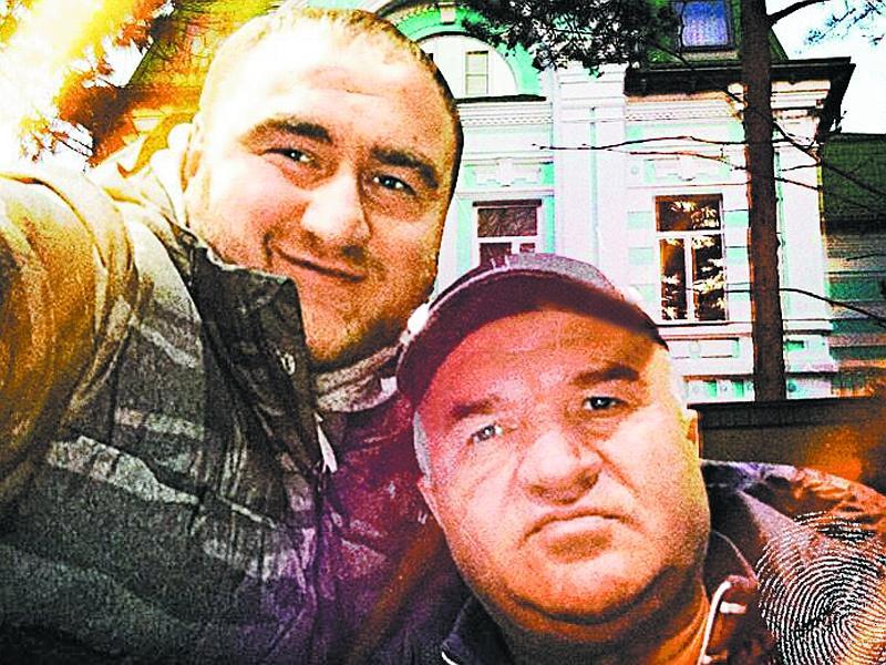 Отец и сын Арашуковы // фото: соцсети