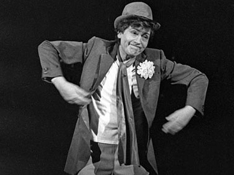 Геннадий Бортников в спектале «Глазами клоуна» // фото: Театр им. Моссовета