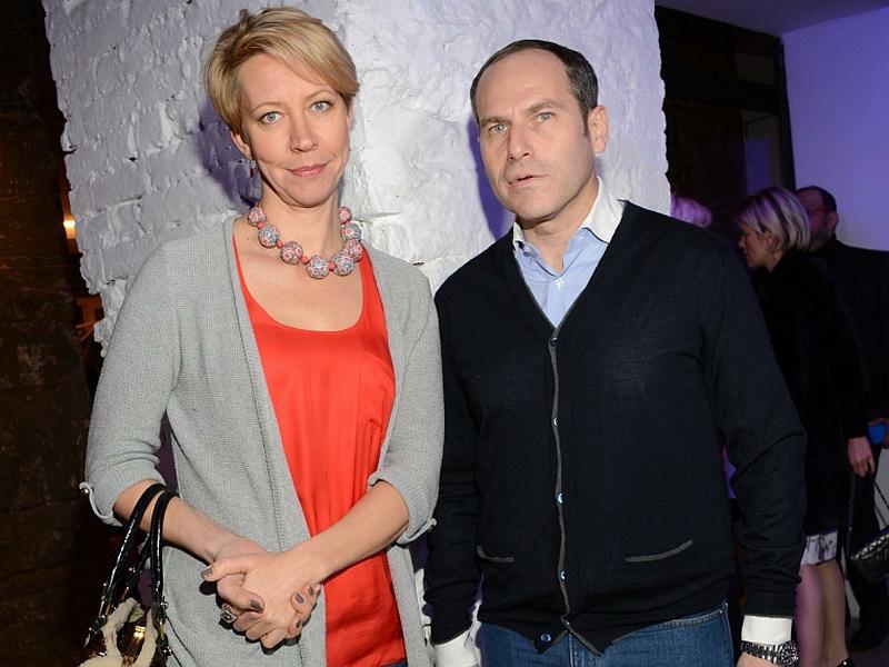 Михаил Шац с Татьяной Лазаревой // фото: Anatoly Lomohov / Global Look Press