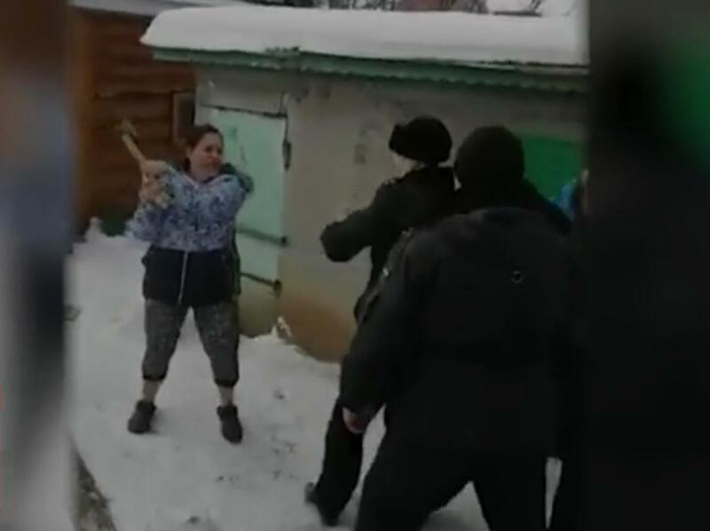 Скриншот с видео РЕН ТВ