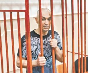 Александр Шестун в зале суда