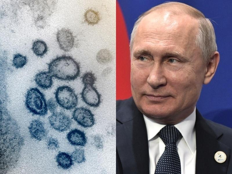 Коронавирус и Владимир Путин // фото: Global Look Press