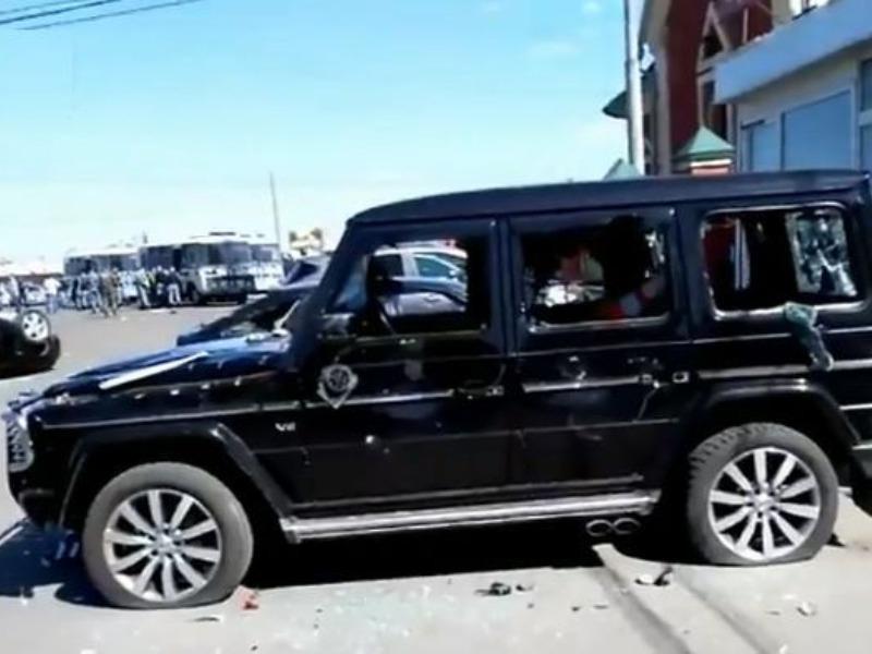 Побоище на Хованском кладбище / стоп-кадр / YouTube