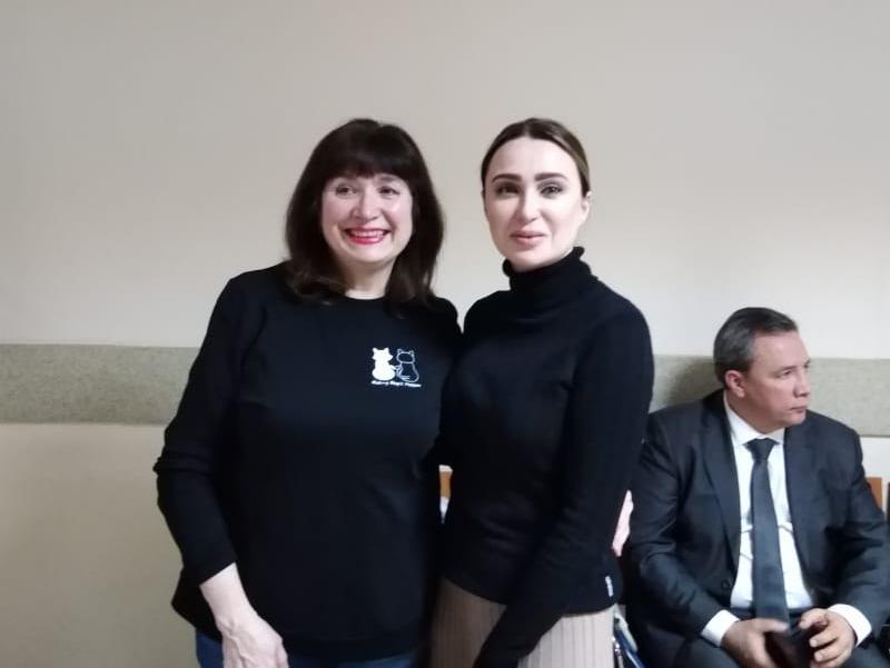 Мать Владислава Синицы и Юлия Шестун // Фото: Надежда Гужева