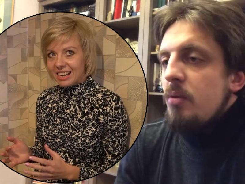 Людмила Савицкая и Сергей Маркелов // Скриншоты с видео
