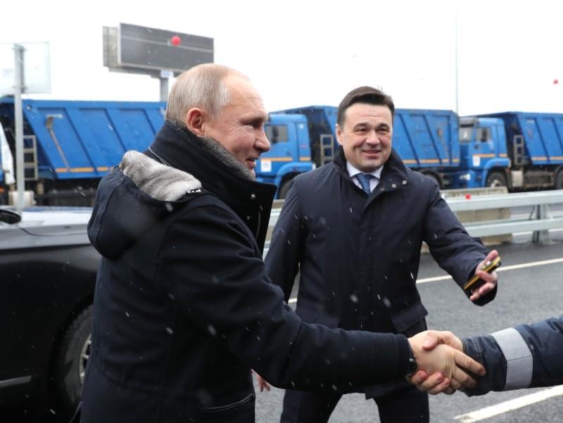 Владимир Путин и Андрей Воробьев // Фото: Global Look Press