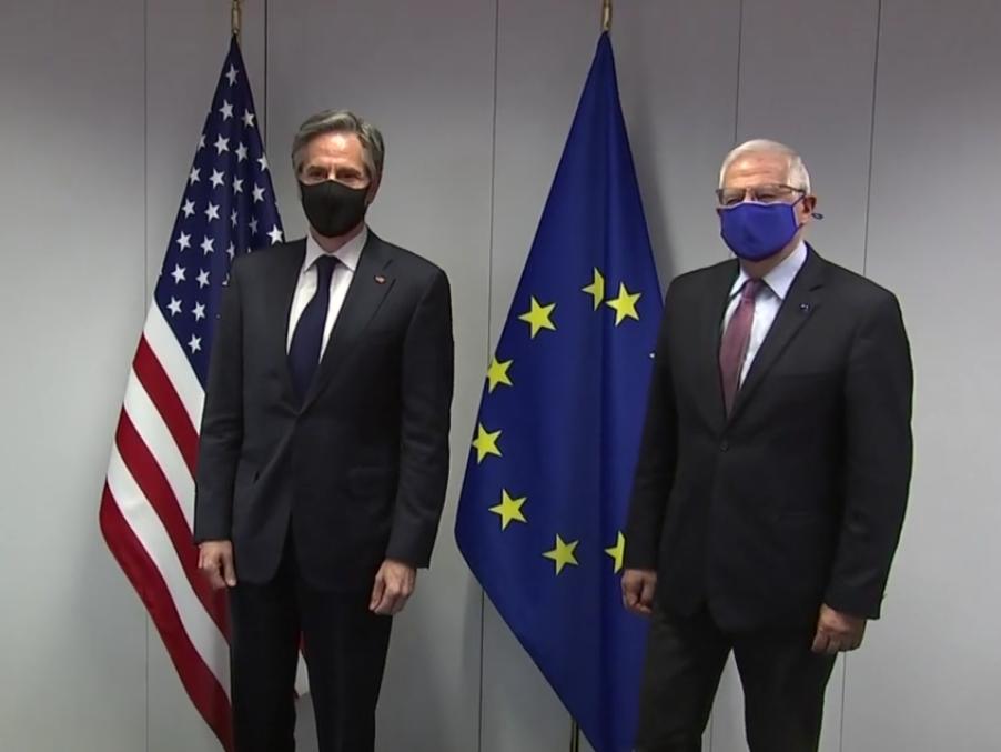 США и ЕС будут сотрудничать по вопросам Китая и вызывающего поведения России