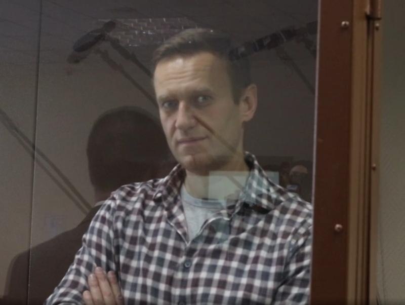 Алексей Навальный // Алексей Навальный // Фото: стоп-кадр с видео пресс-службы Мосгорсуда