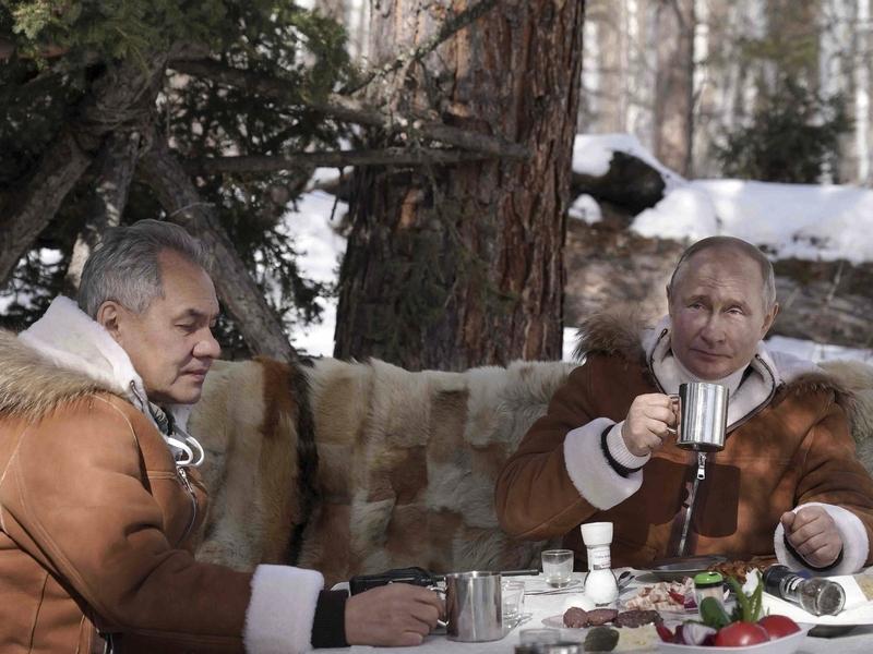 Фото:  Алексей Дружинин (Kremlin Pool) / Global Look Press