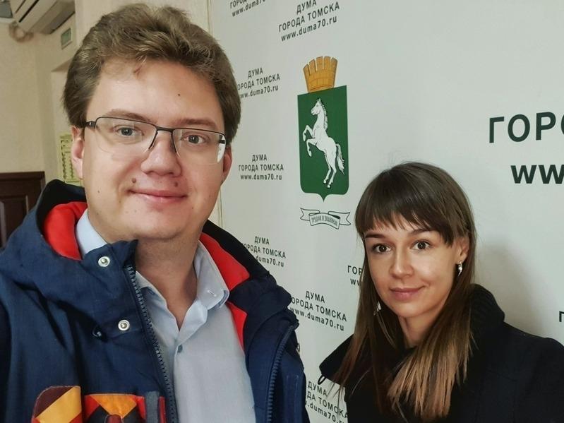 Ксения Фадеева и Андрей Фатеев // Фото: Twitter