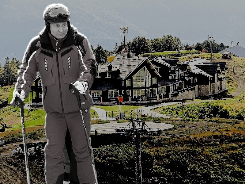 Главное здание с вертолетной площадкой // фото в статье: «Экологическая вахта по Северному Кавказу», Global Look Press