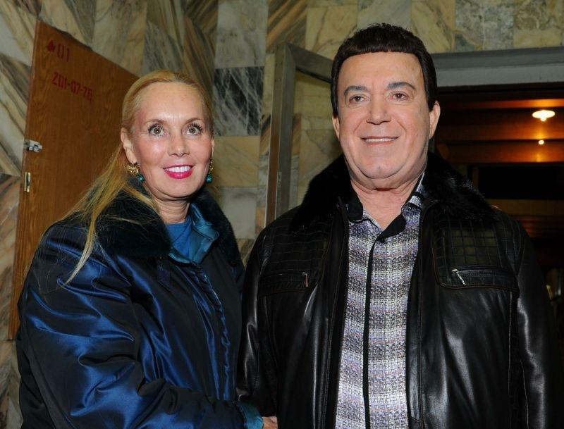 Иосиф и Нелли Кобзон//фото в статье: Global Look Press