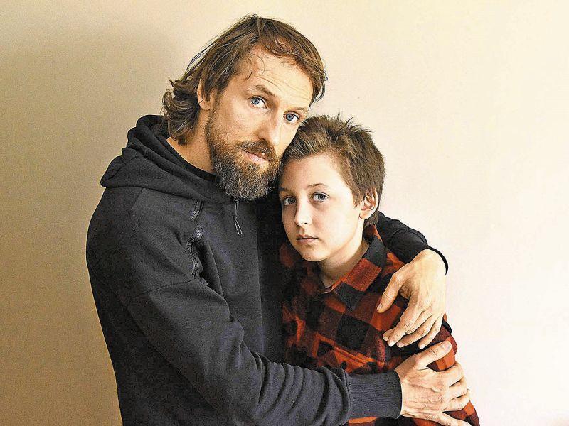 Илья Литау с отцом // фото: Сергей Величкин