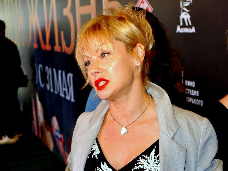 Алена Бабенко на премьере // фото: Олег Беликов