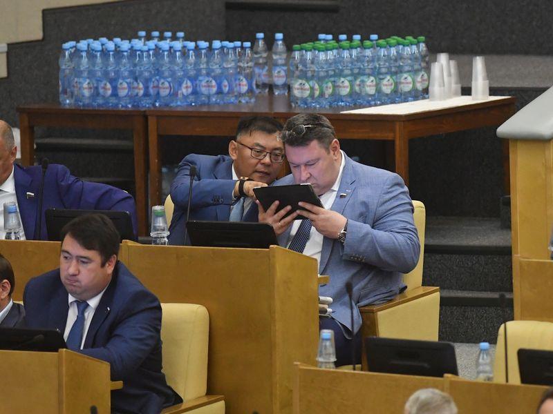 Заседание Госдумы // фото: Global Look Press