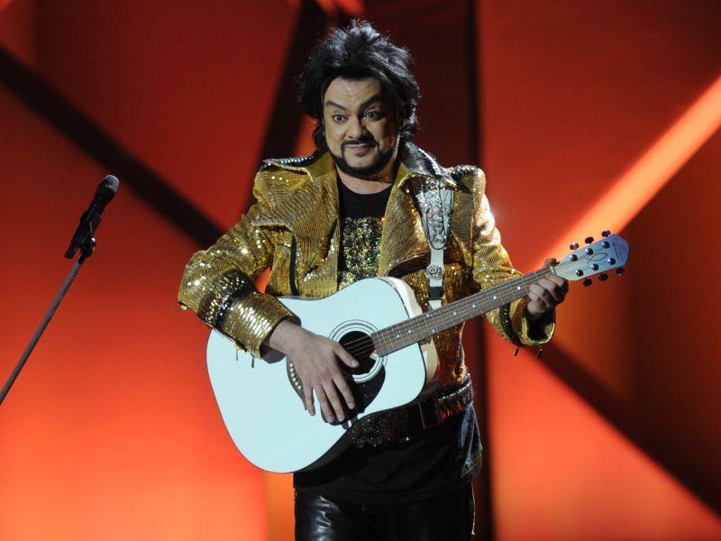 Филипп Киркоров на концерте // фото: Global Look Press