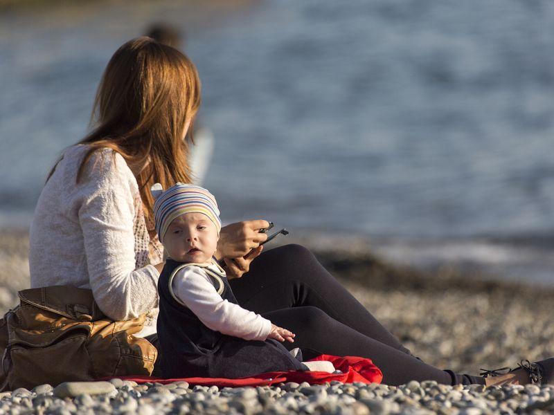 Мать и ребенок // Фото: Global Look Press