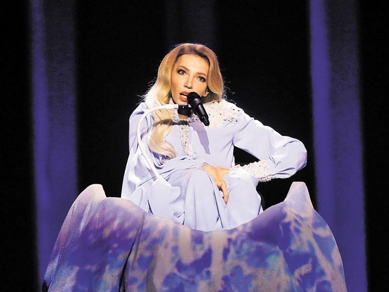 Юлия Самойлова в полуфинале Евровидения-2018 // фото: Global Look Press