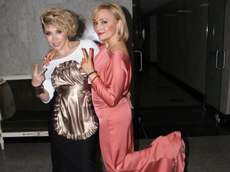 Татьяна Буланова с Еленой Воробей