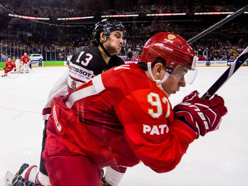 Россиян с ЧМ-2018 еще в 1/4 финала выбили канадцы, в следующем круге уступившие главной сенсации турнира – сборной Швейцарии // фото: Global Look Press