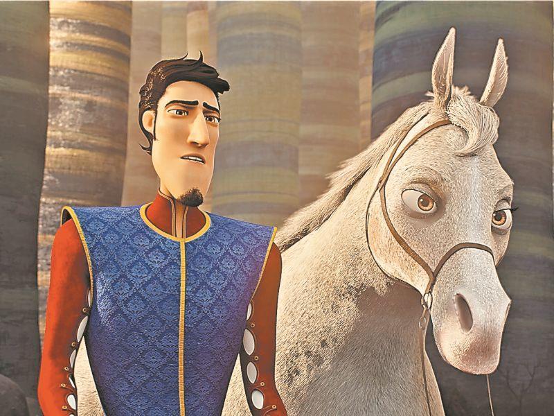 """кадр из м/ф """"Распрекрасный принц"""""""